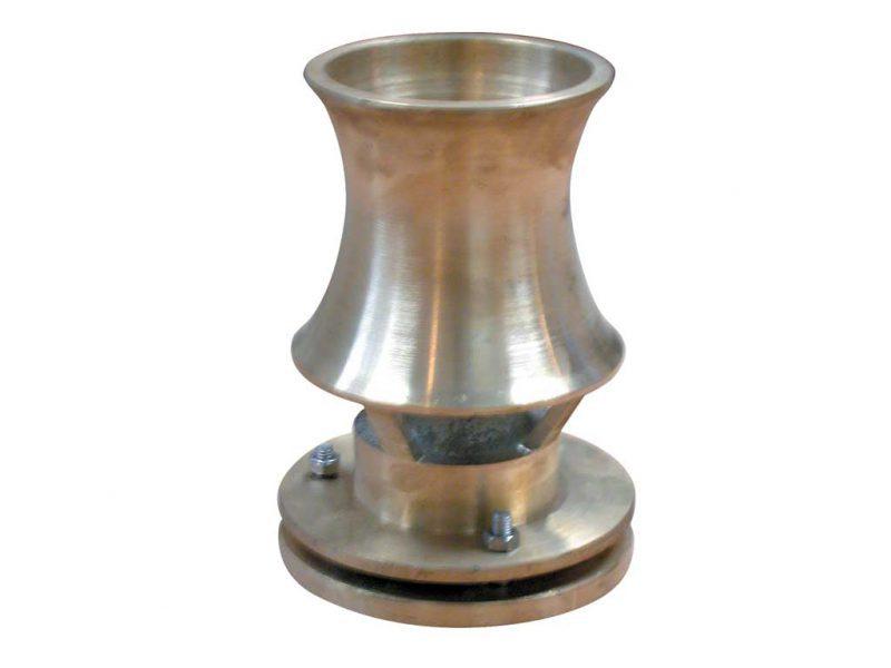 Форсунка фонтана Каскад 130T, 3″, O 135 мм, бронза
