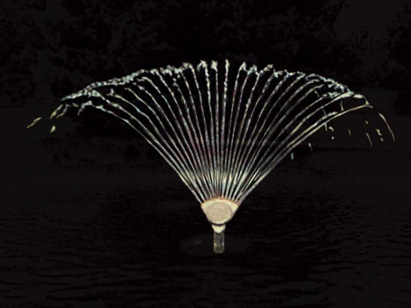 Форсунка фонтанная Finger Jet 13-4T, 1″, O 4 мм, 24 сопла, бронза