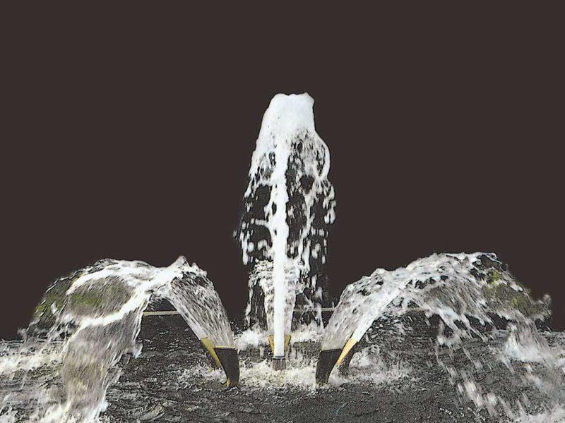 Форсунка фонтанная Water Fan 115-15T, 1?», нерж.сталь