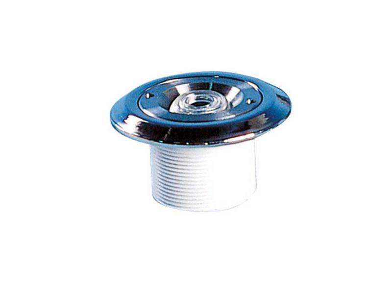 Форсунка подающая стеновая ABS, нерж. сталь, 2″ нар.р./ 50 мм, плитка