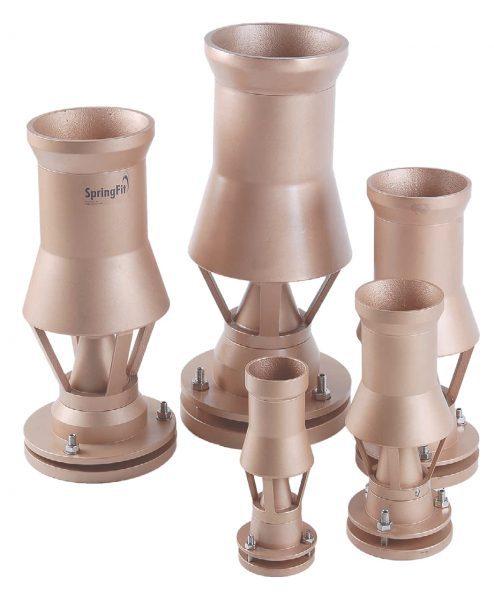 Форсунки фонтана SpringFit Каскад 130, 3″, O 135 мм, бронза