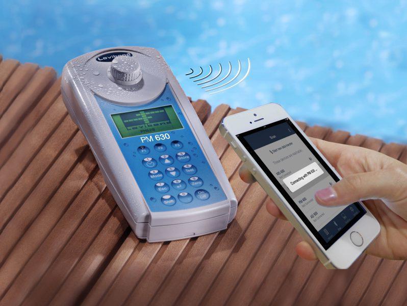 Фотометр PM 630 (34 в 1) с Bluetooth и набором реагентов Cl/pH/CyA/щелочность
