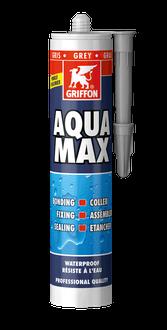 Герметик бассейновый универсальный Aqua Max 425 г GRIFFON, серый