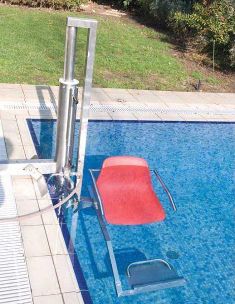 Гидравлический лифт для инвалидов GEMAS, нерж. сталь AISI 304