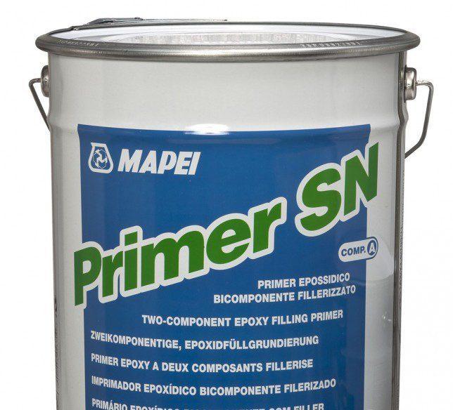 Грунтовка эпоксидная  для эпоксидных, полиуретановых промышленных полов PRIMER SN, 20 кг (16+4)