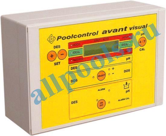 Изм.-регулирующ. прибор Poolcontrol AVANT VISUAL