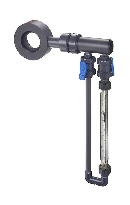 Измеритель потока FO-N4 DN25 (диафрагменный расходомер, ротаметр)