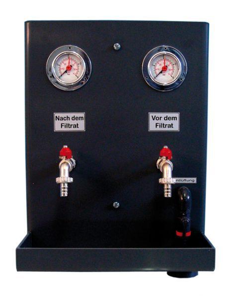 Измерительно-испытательный щит для фильтровальных емкостей dinotec