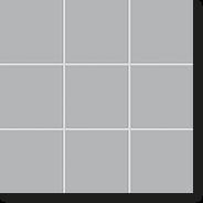 Керамическая мозаика, New York, Мetropolitan-Grey, 102x102x6,5 мм, серый