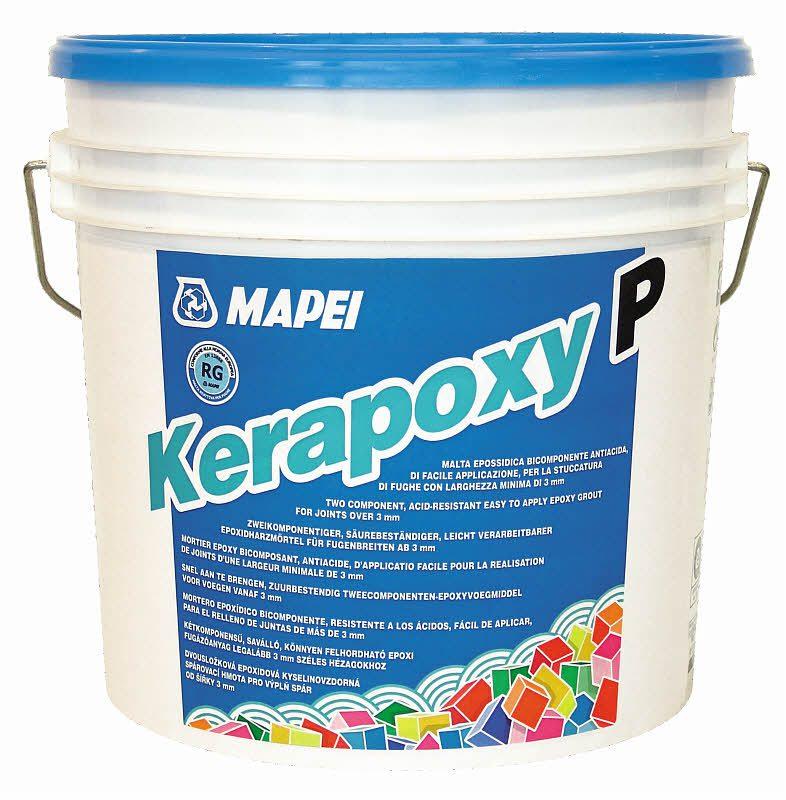 KERAPOXY №144 шоколад, 2-х компонентный герметик кислотостойкий, 2 кг