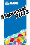 Кислотостойкий эпоксидный лак, MAPECOAT PU 33, RAL 7032, 23 кг (20,7+2,3)