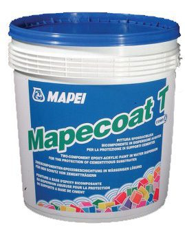 Кислотостойкий эпоксидный лак, MAPECOAT T, RAL 9010, 20 кг (10+10)