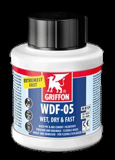 Клей Griffon для гибких труб ПВХ WDF-5 0,25 л (бутылка с кисточкой)