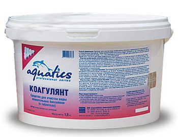 Коагулянт для бассейнов в таблетках (25г)