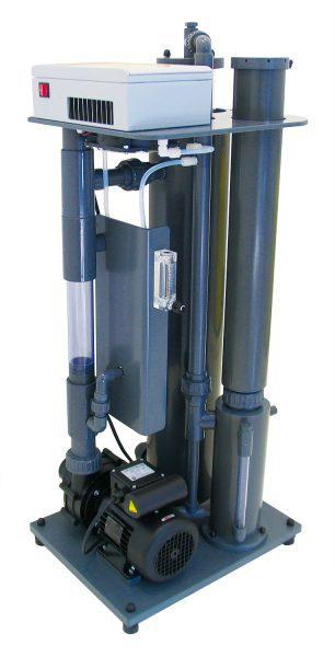 Компактная установка озонирования воды Din-o-zon K2