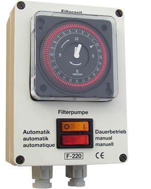 Компактный блок управления фильтрацией F-220
