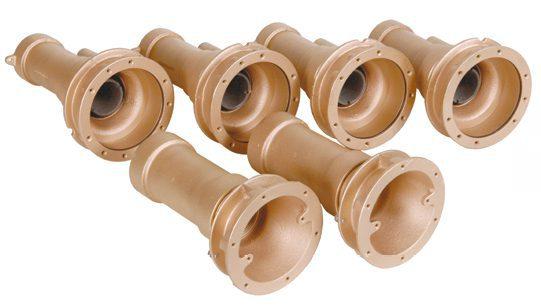 Комплект гидромассажа FitStar Combi-Whirl, 4 стеновые форсунки, 5,5 кВт, 400/690 В