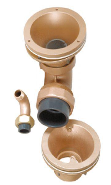 Комплект гидромассажа FitStar Combi-Whirl, стеновая подающая, донная всасывающая, 2,2 кВт, 230/400 В