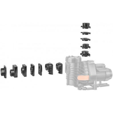 Комплект переходников №5 насоса EasyFit для Astral Super Sprint, Victoria Plus, Wilo Filtec FBS