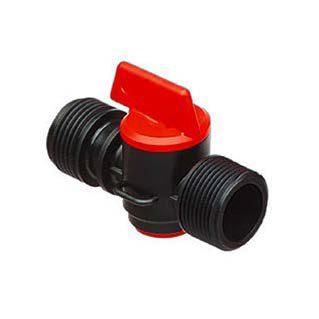 Кран-штуцер D3/4″ н.р. для обратного клапана