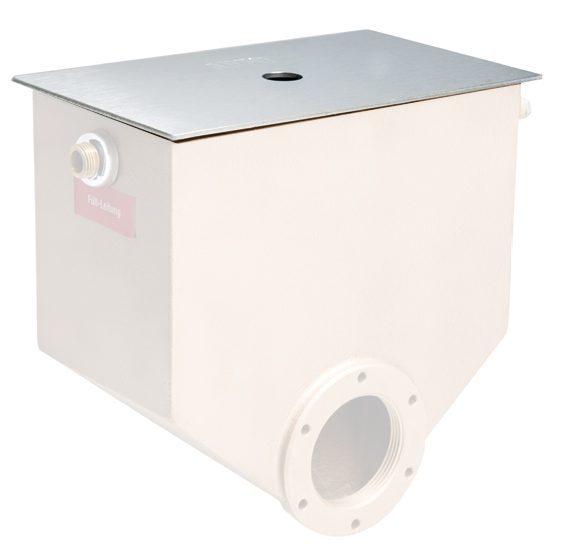 Крышка для механического устройства поддержания уровня воды AllFit, нерж.сталь
