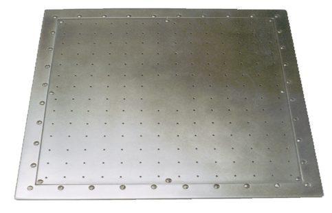 Квадратный аэромассаж FitStar BS 75 Q из нерж. стали 316 L, компрессор 2,2 кВт, 3~