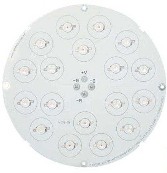 Лампа LED PAR56 цвет RGB — 1638 Lux,без встроенной платы упр-ия
