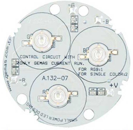 Лампа Mini, LED Single Color 3, 4.2 Вт, 12 В, 140°, бирюзовый