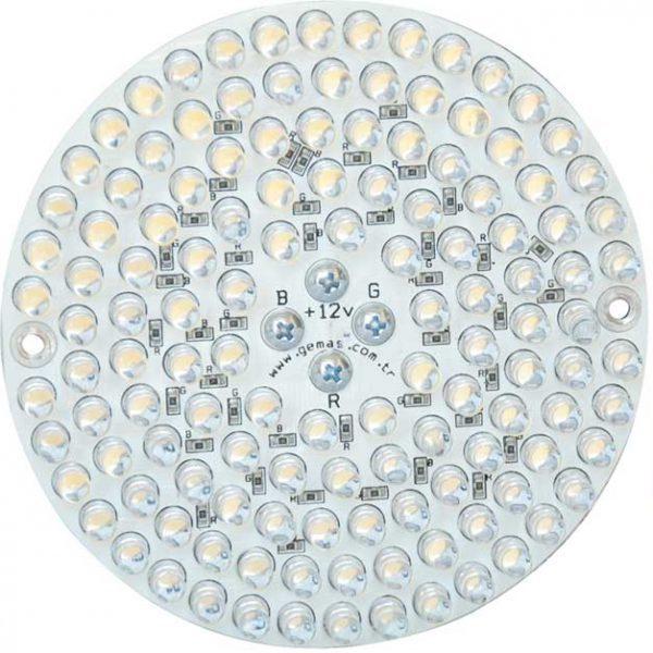 Лампа PAR38, LED Rainbow 126, 10 Вт, 12 В, 30°, с встроенной платой управления