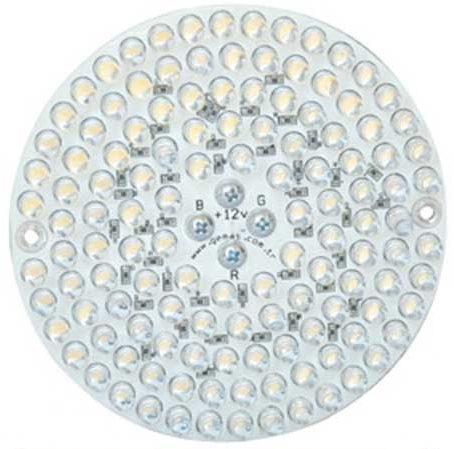 Лампа PAR38, LED Single Color 126, 10 Вт, 12 В, 30°, бирюзовый