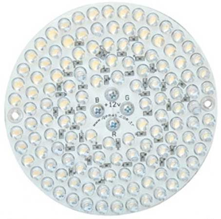 Лампа PAR38, LED Single Color 126, 10 Вт, 12 В, 30°, синий