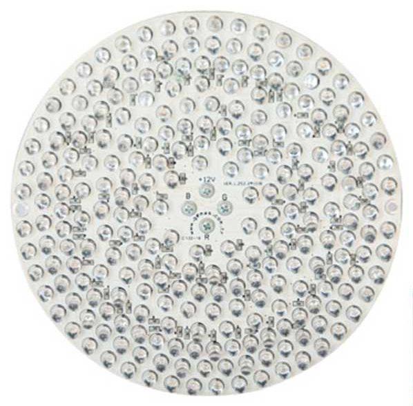 Лампа PAR56, LED Rainbow 216 , 18 Вт, 12 В, 30°, с встроенной платой управления
