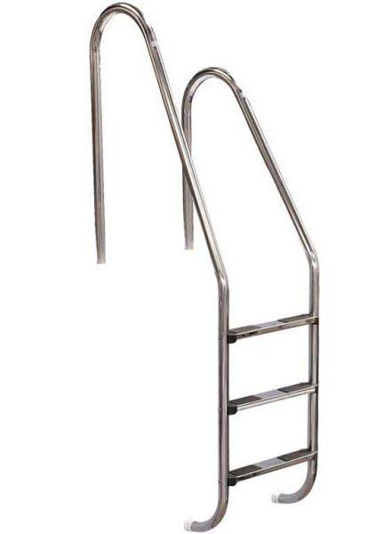 Лестница ассиметричная Asymmetric 304, 2 ступени, нерж. сталь AISI 304