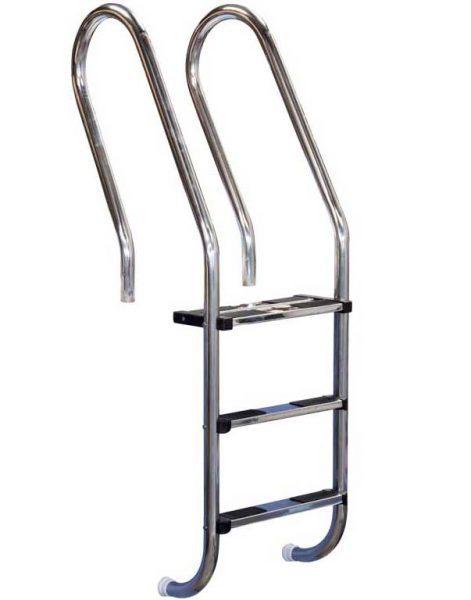 Лестница Combined 304, 2 ступени, нерж. сталь AISI 316, двойная верхняя ступень