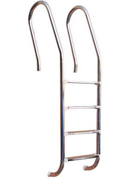 Лестница Combined 304, 4 ступени, нерж. сталь AISI 304