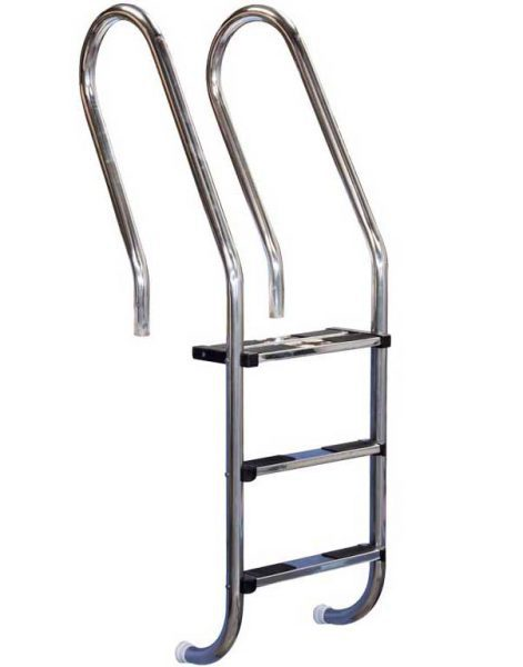 Лестница Combined 304, 5 ступеней, нерж. сталь AISI 316, двойная верхняя ступень
