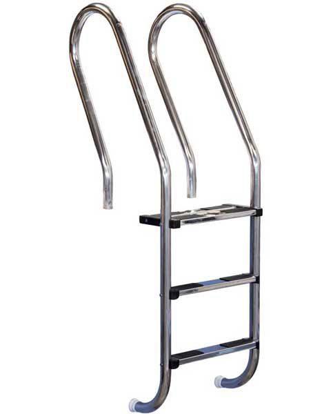 Лестница Combined 316, 2 ступени, нерж. сталь AISI 316, двойная верхняя ступень