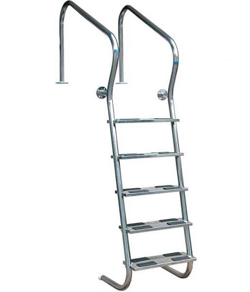 Лестница Easy Access 304, 3 ступени, нерж. сталь AISI 304, двойные ступени