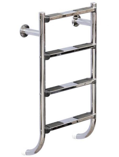 Лестница Split 304, 2 ступени, нерж. сталь AISI 304