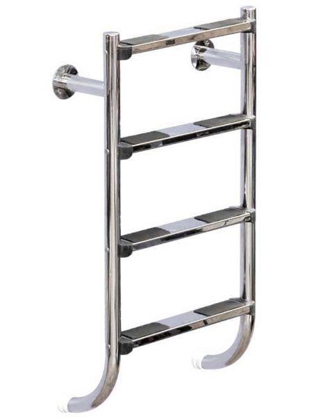 Лестница Split 304, 4 ступени, нерж. сталь AISI 304