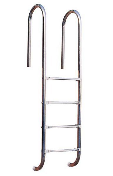 Лестница Standart U 304, 2 ступени, нерж. сталь AISI 304