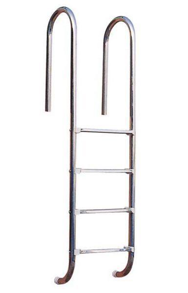 Лестница Standart U 304, 4 ступени, нерж. сталь AISI 304