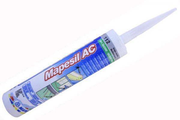 MAPESIL AC 113 цементно-серый, 310 мл