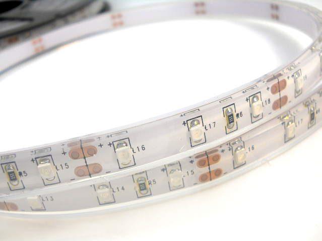Монохромная подводная светодиодная лента 10х5 мм, IP68, 12 В, белая (цена за пог.м.)