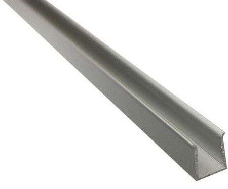 Монтажный профиль 2.0 из алюминия, для ленты AQUALUC CURVE MINI 13,5х6 мм, L=1 м