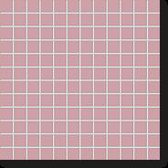 Мозаика London Elegant-Rose, 24x24x6,5 мм, розовый