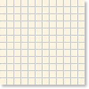 Мозаика Mailand Intensive Pearl, 24x24x6,5 мм, бежевый