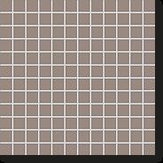 Мозаика New York Straight-Mud, 24x24x6,5 мм, серо-коричневый