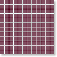 Мозаика New York Strong-Purple, 24x24x6,5 мм, сиреневый