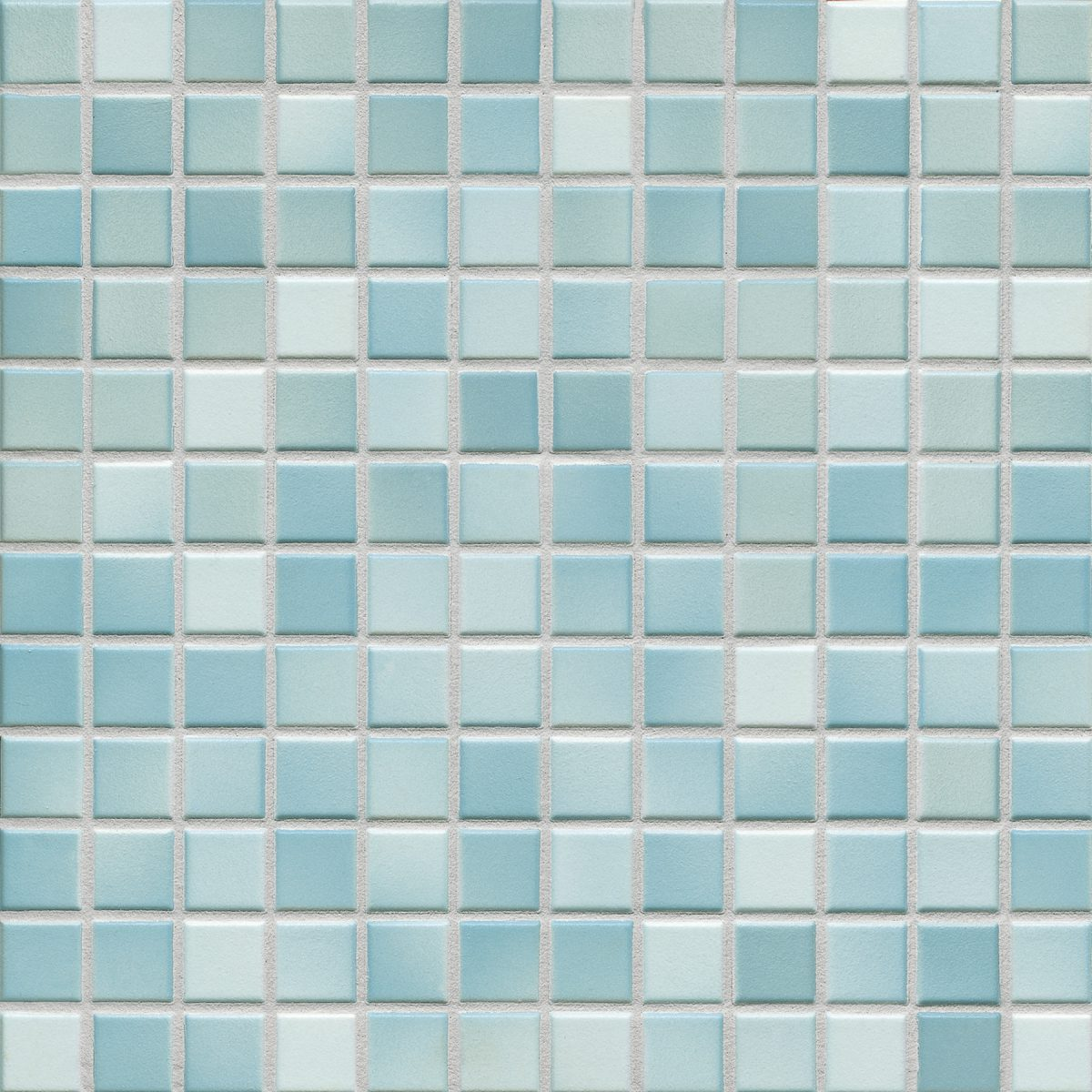Мозаика серия Fresh 2,4 X 2,4 см Light Blue Mix Secura (противоскользящая R10/B)